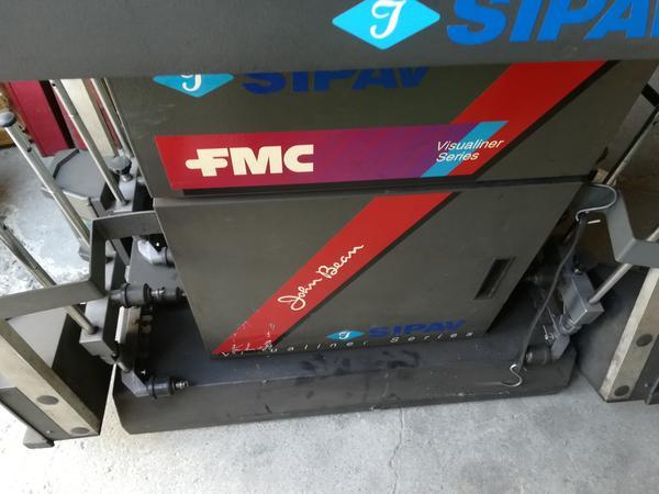 3#3390 Macchina Convergenza FMC - SIPAV  John Bean
