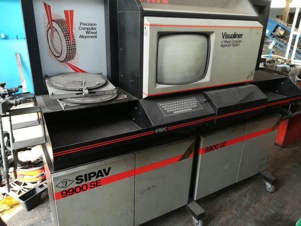 4#3390 Macchina Convergenza FMC - SIPAV  9900 SE