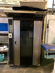 Ventilated gas oven with 60x80 trolley - Lot 7 (Auction 3408)