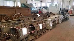 Molds for corrugated tubes - Lot 1 (Auction 3426)