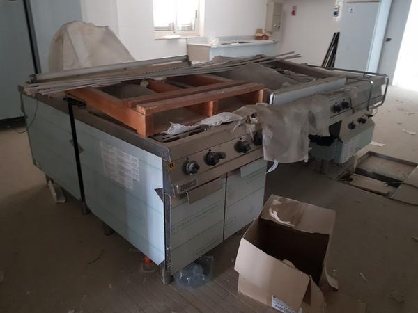 Immagine n. 6 - 1#3428 Cucina centrale per ristorazione Zanussi