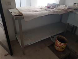 Stainless sink and table - Lot 12 (Auction 3428)