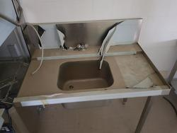 Stainless sink and table - Lot 13 (Auction 3428)