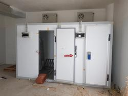 Refrigerator rooms with shelving - Lot 16 (Auction 3428)