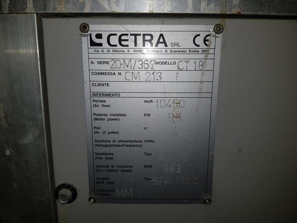 Immagine n. 2 - 19#3428 Centrale di trattamento aria Centra CT18