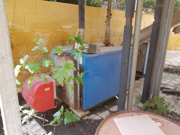 Immagine n. 1 - 22#3428 Impianto Caldaia per riscaldamento acqua