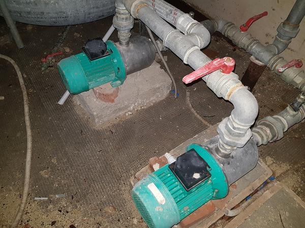 Immagine n. 5 - 24#3428 Serbatoi inox e pompe multistadio