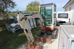 Takeuchi Italia Mini Excavator - Lot 12 (Auction 3430)