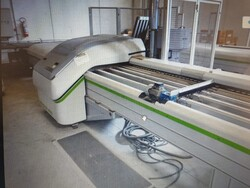 Morbidelli Biesse boring machine and roller conveyors - Lot 0 (Auction 3435)