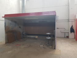 Paint booth with water and dry veil - Lot 17 (Auction 3435)