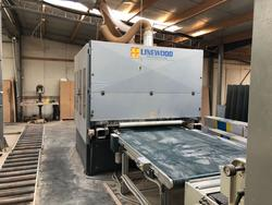 SCM Outside profiling and moulding machine and Linewood sanders - Lot 1 (Auction 3439)