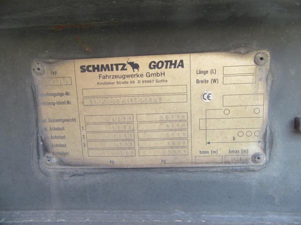 Immagine n. 13 - 33#3441 Semirimorchio Schmitz Gotha
