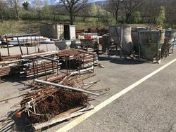 Ceta Scaffolding and concrete mixer - Lot 217 (Auction 3450)