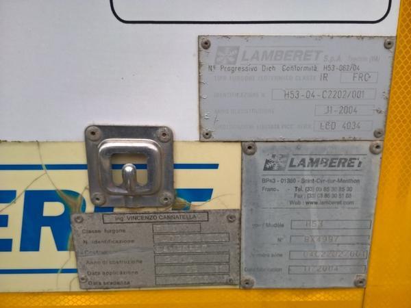 Immagine n. 7 - 2#3464 Semirimorchio con cassone frigo Omar Srl