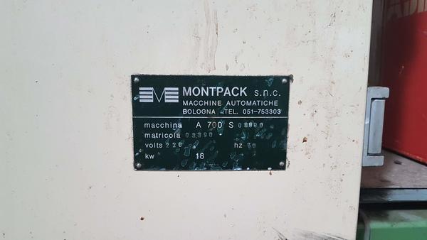 Immagine n. 6 - 1#3469 Fardellatrici Montpack