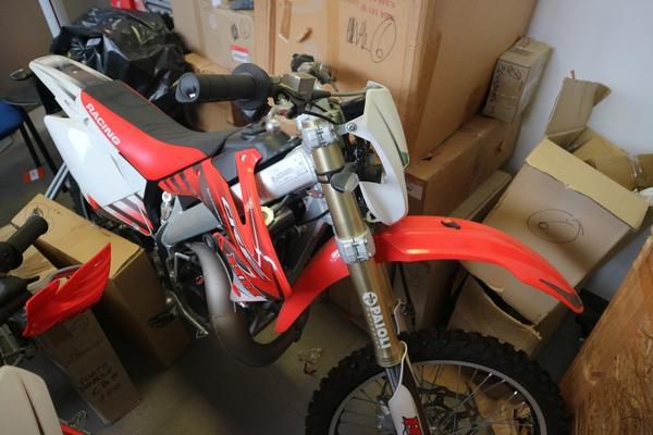 5#3474 Moto HM Enduro CRE