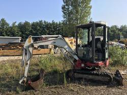 Crawler excavator Takeuchi TB23R - Lot  (Auction 3475)