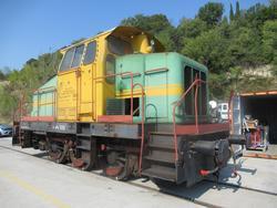 Henschel DHG500 locomotor - Lot 1 (Auction 3479)