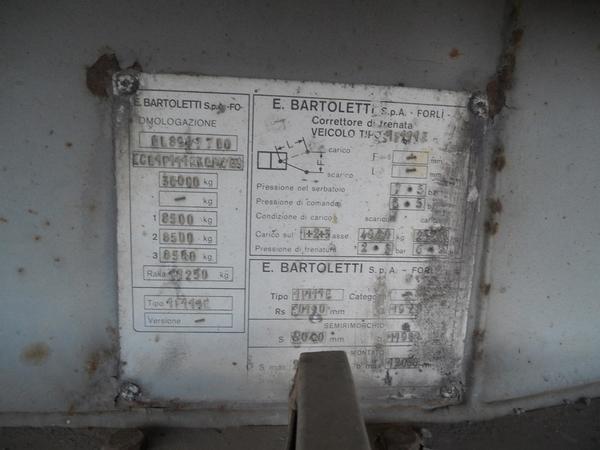 Immagine n. 12 - 1#3484 Semirimorchio frigorifero Bartoletti