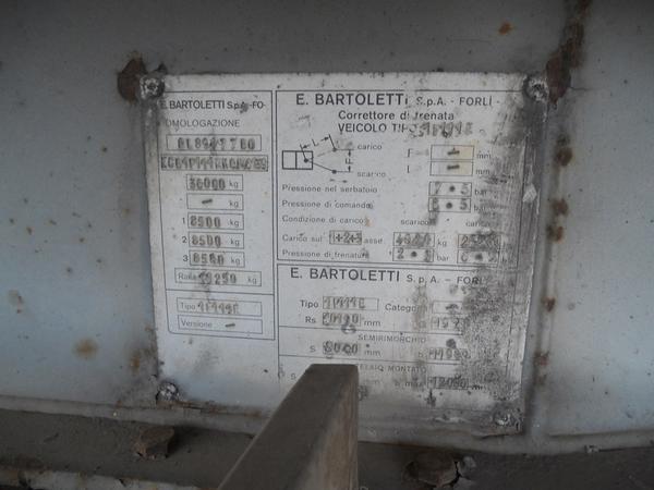 Immagine n. 13 - 1#3484 Semirimorchio frigorifero Bartoletti