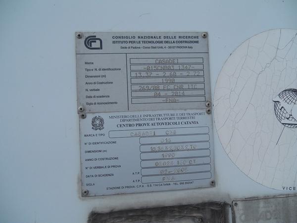 Immagine n. 14 - 1#3484 Semirimorchio frigorifero Bartoletti