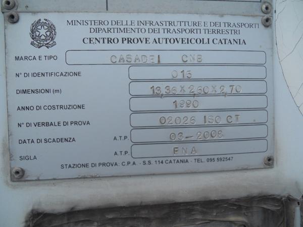 Immagine n. 16 - 1#3484 Semirimorchio frigorifero Bartoletti