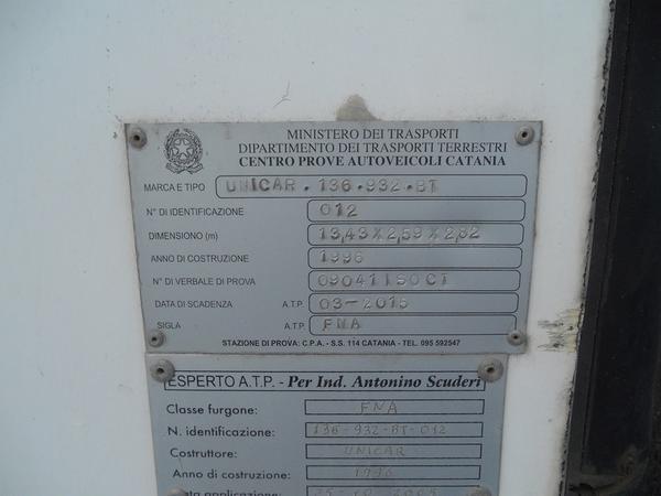 Immagine n. 2 - 3#3484 Semirimorchio Acerbi