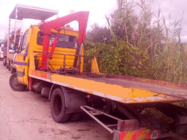 Immagine n. 4 - 1#3495 Autogru Iveco 50 E4 per soccorso stradale