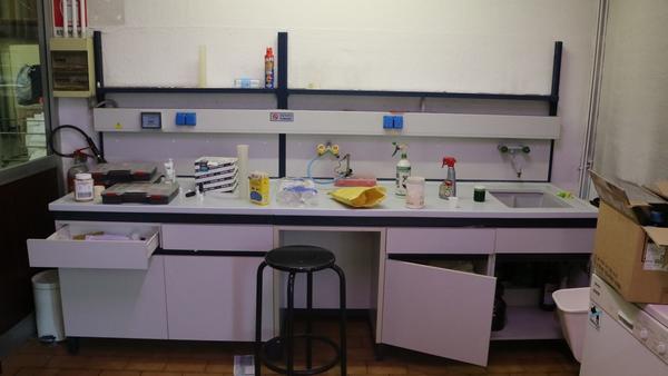 1#3503 Arredi e attrezzature da laboratorio