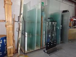 Lastre in vetro e porta lastre - Lotto 1 (Asta 3505)