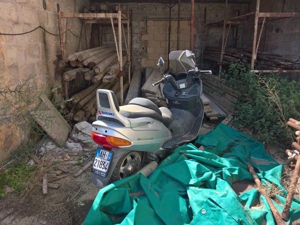 3#3509 Scooter Suzuki Burgman