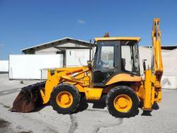 JCB 2 DX backhoe loader - Lot 2 (Auction 3513)