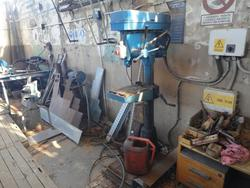 Super Valmer column drill and Ford Transit truck - Lot  (Auction 3514)