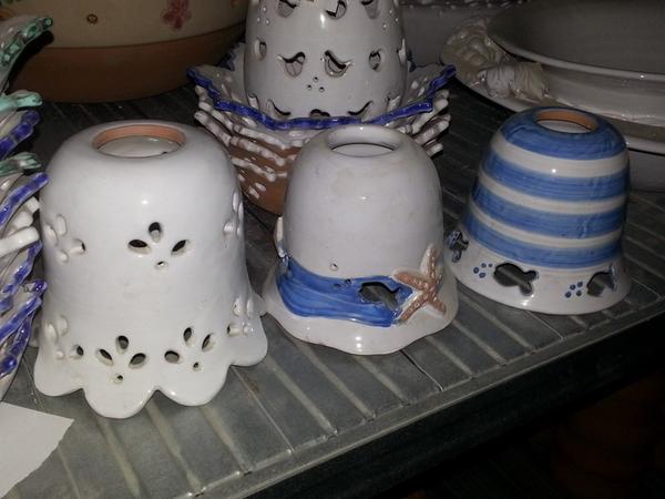 1#3522 Appliques e lampadari in terracotta