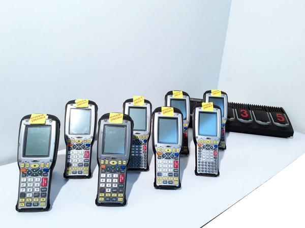 7#3525 Lettori di codici a barre Psion Teklogix 7535
