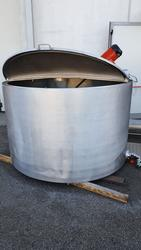 Tank with double chamber in stainless steel with agitator - Lot 20 (Auction 3529)