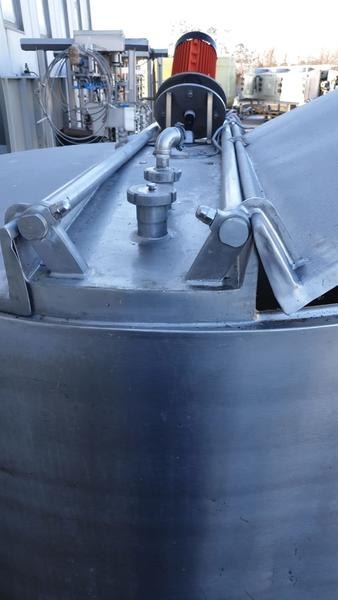 Immagine n. 5 - 20#3529 Cisterna con doppia camera in inox con agitatore