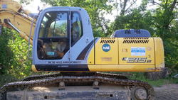New Holland Kobelco E215B hydraulic excavator - Lot 3 (Auction 3530)