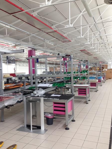 1#3537 Linea di montaggio Conveyors apparecchiature elettroniche