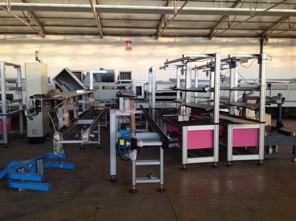 Immagine n. 2 - 1#3537 Linea di montaggio Conveyors apparecchiature elettroniche