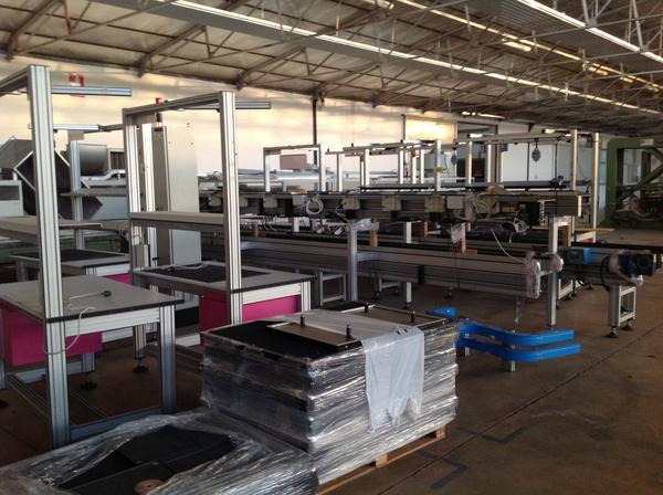 Immagine n. 3 - 1#3537 Linea di montaggio Conveyors apparecchiature elettroniche