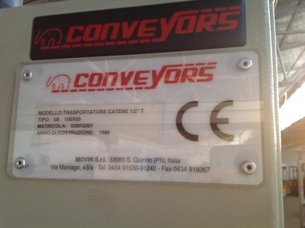 Immagine n. 6 - 1#3537 Linea di montaggio Conveyors apparecchiature elettroniche