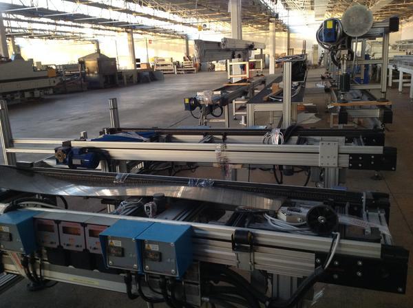 Immagine n. 8 - 1#3537 Linea di montaggio Conveyors apparecchiature elettroniche