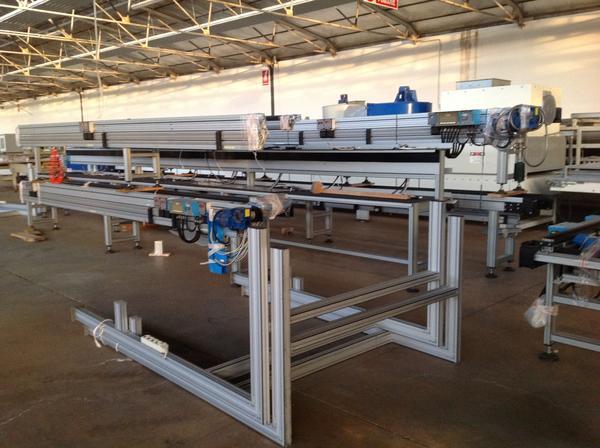 Immagine n. 9 - 1#3537 Linea di montaggio Conveyors apparecchiature elettroniche