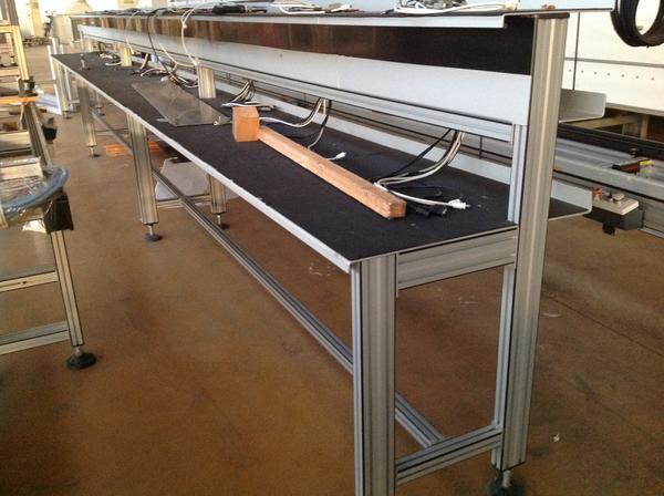 Immagine n. 10 - 1#3537 Linea di montaggio Conveyors apparecchiature elettroniche