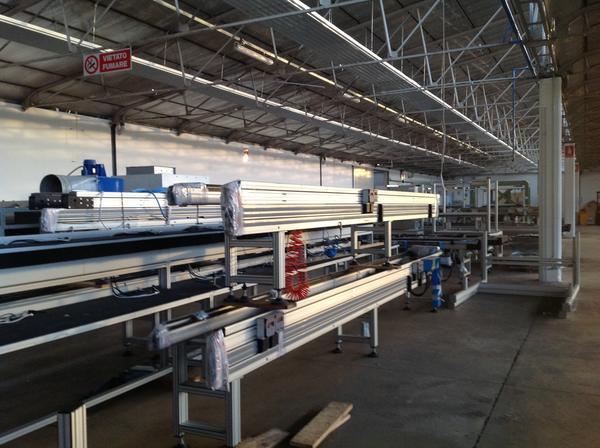 Immagine n. 11 - 1#3537 Linea di montaggio Conveyors apparecchiature elettroniche