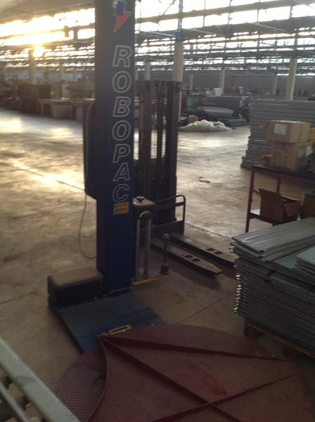 Immagine n. 3 - 4#3537 Imballatrice pallet automatica Robopac