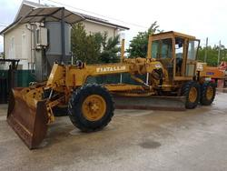 Fiat Allis FG75 grader - Lot 1 (Auction 3538)
