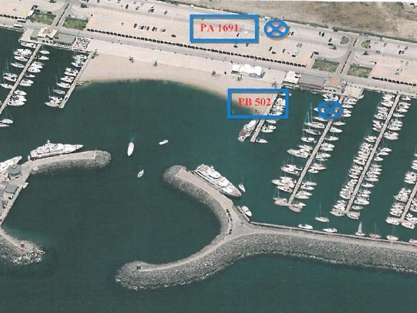 1776 3543 posto barca porto turistico di roma n 502 con - Posto con molti specchi ...
