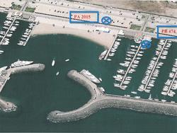 Posto barca PORTO TURISTICO DI ROMA n 474 con posto auto n  2105 - Lot 1778 (Auction 3545)